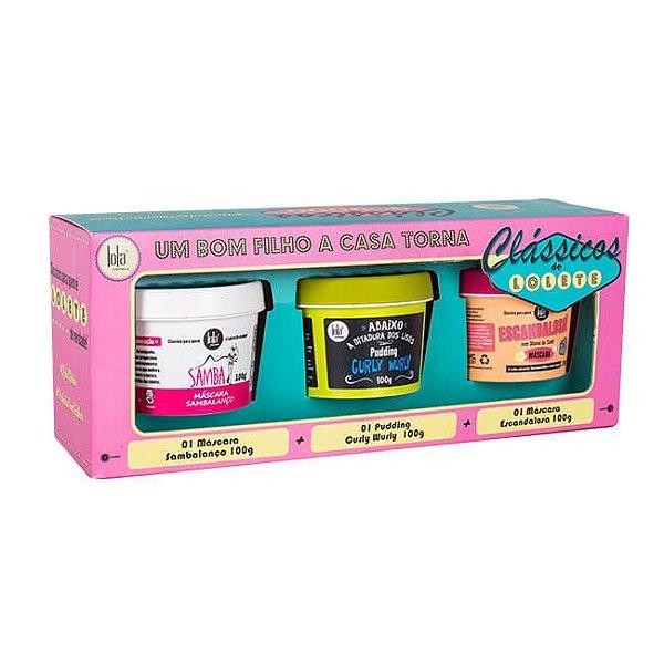 Kit Clássicos de Lolete - Lola Cosmetics