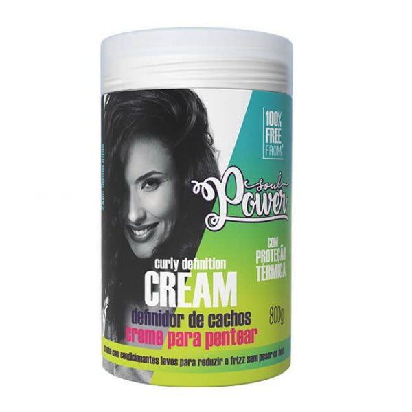 Creme Para Pentear Curly Definition Cream 800g - Soul Power