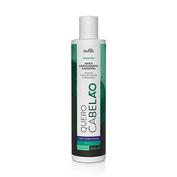 Shampoo Quero Cabelão 400mL - Griffus