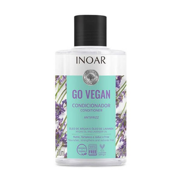 Condicionador Antifrizz Go Vegan 300mL - Inoar