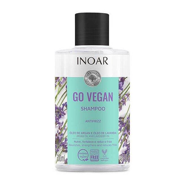 Shampoo Antifrizz Go Vegan 300mL - Inoar