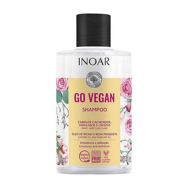 Shampoo Cachos Go Vegan 300mL - Inoar