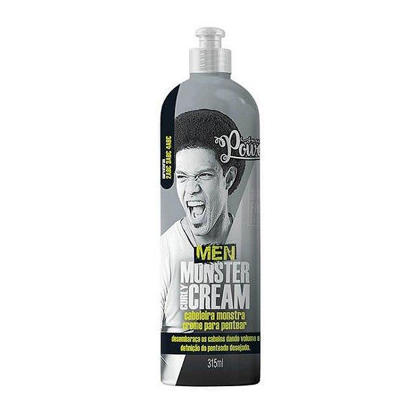 Creme Para Pentear Men Monster Curly Cream 315ml - Soul Power