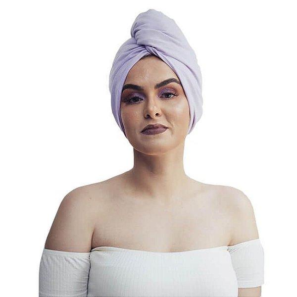 Toalha de Malha Turbante Lilás - Turban