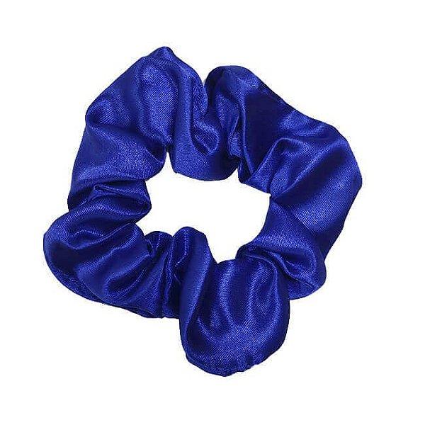 Xuxinha de Cetim Azul Royal - Turban