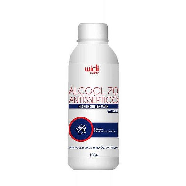 Álcool 70 Líquido 120ml - Widi Care