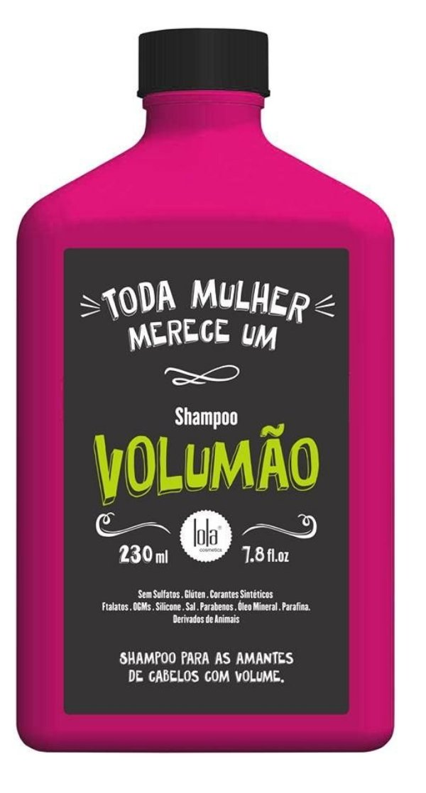 Volumão Shampoo 250ml - Lola Cosmetics