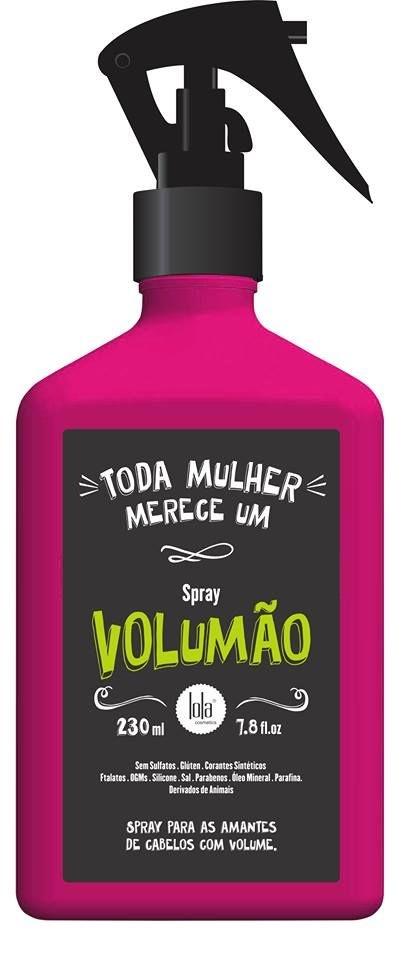 Volumão Spray 230ml - Lola Cosmetics