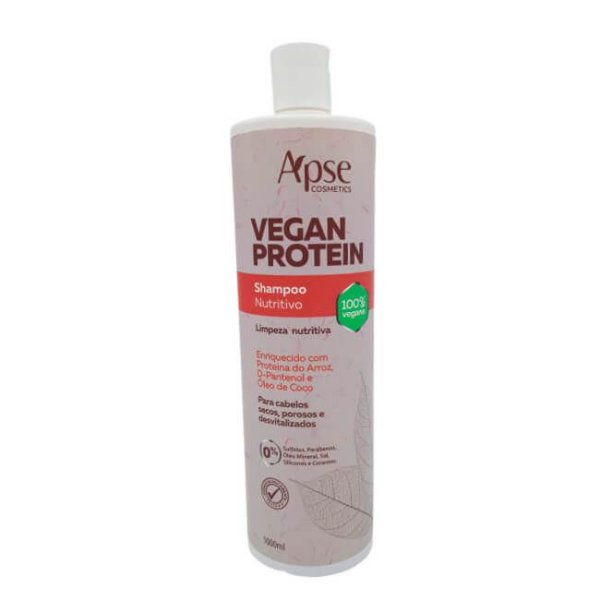 Shampoo Nutritivo Vegan Protein 1L - Apse