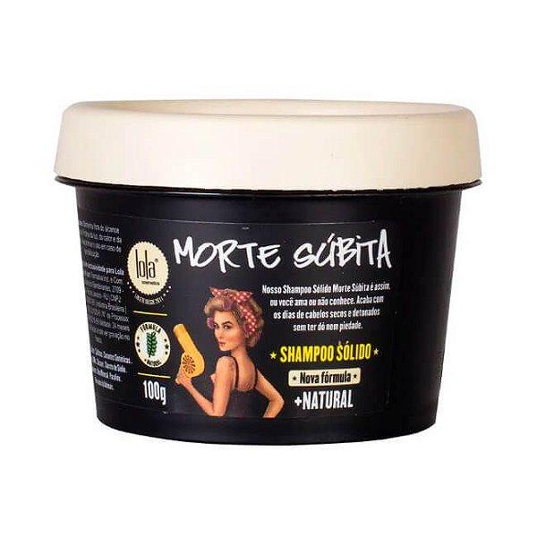 Shampoo Sólido Detox Esfoliante Morte Súbita 100g - Lola Cosmetics
