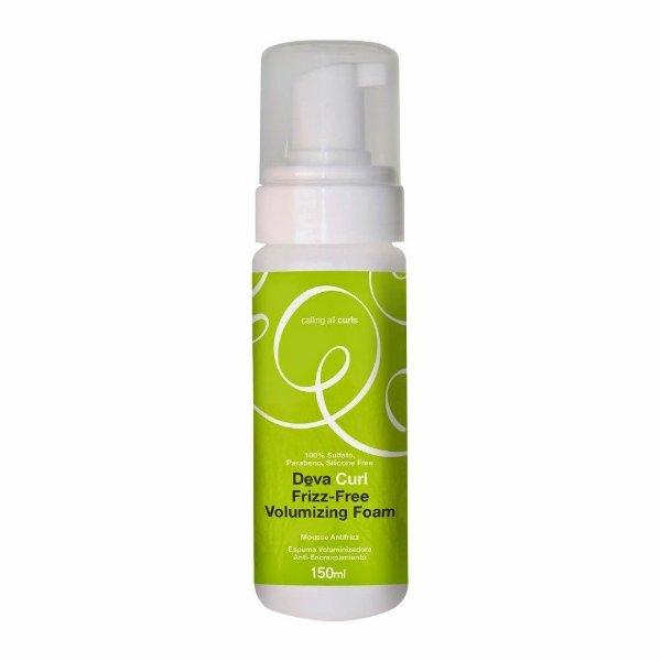 DevaCurl Frizz-Free Volumizing Foam Mousse Antifrizz - 150ml