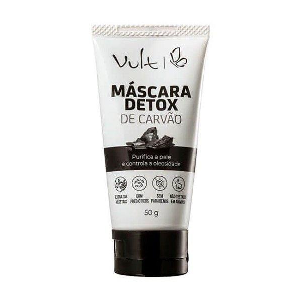 Máscara Detox de Carvão Facial 50g - Vult