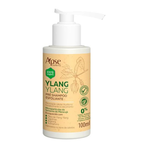 Pré Shampoo Esfoliante Ylang Ylang 100ml - Apse