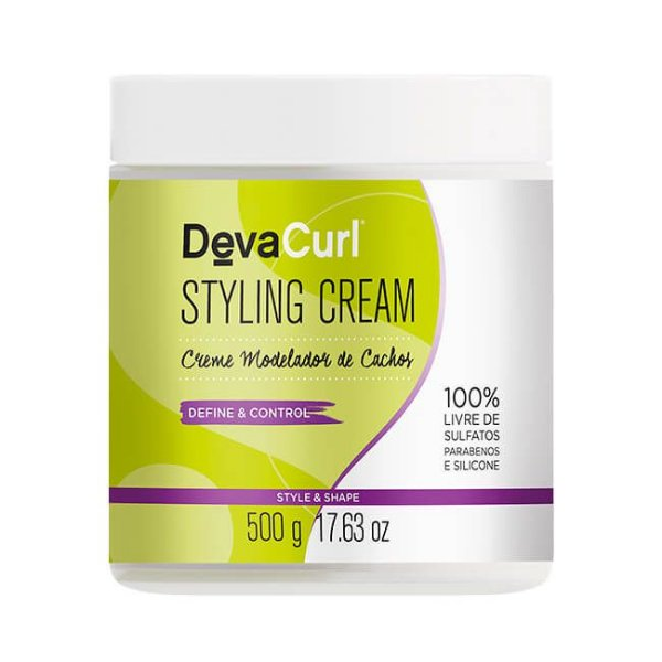 DevaCurl Styling Cream Creme Estilizador 500g