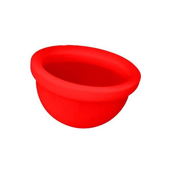 Disco Menstrual Vermelho - Fleurity