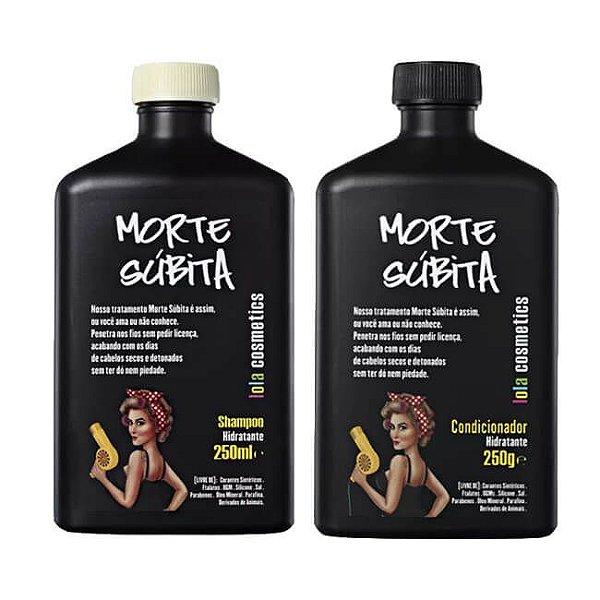 COMBO Shampoo Hidratante Morte Súbita 250ml + Condicionador Hidratante Morte Súbita 250g