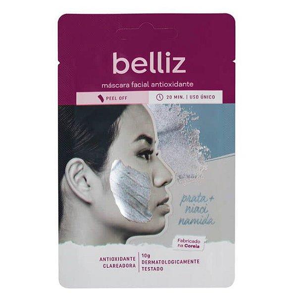 Máscara Facial Antioxidante com Prata - Belliz