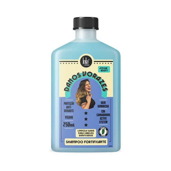 Danos Vorazes Shampoo Fortificante 250mL - Lola Cosmetics