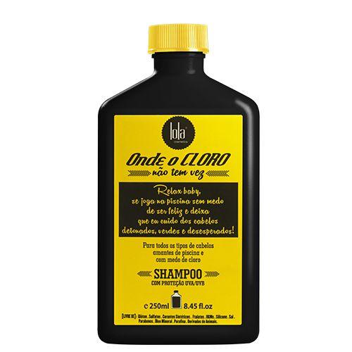 Onde o Cloro Não Tem Vez Shampoo 250ml - Lola Cosmetics