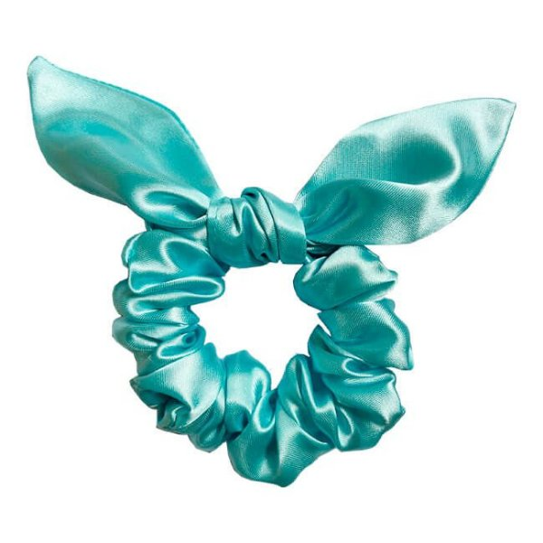 Xuxinha de Cetim Mimo Azul Piscina - Turban