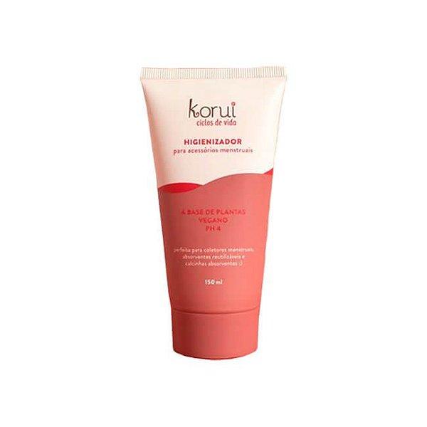 Higienizador para Acessorios Menstruais 150ml - Korui