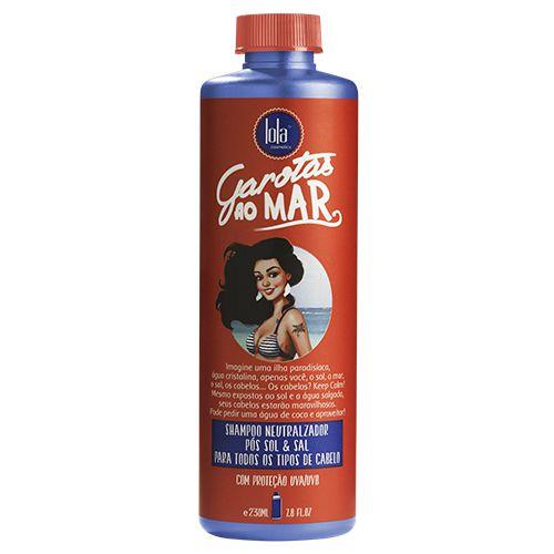 Shampoo Neutralizador Pós Sol & Sal Garotas ao Mar 230ml - Lola Cosmetics