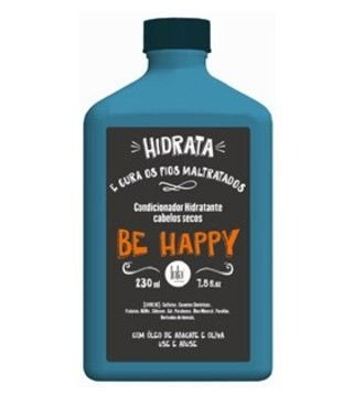 Condicionador Hidratante Cabelos Secos Be Happy - Lola Cosmetics - 250g
