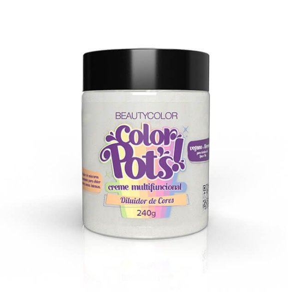 Creme Multifuncional Diluidor de Cores Color Pot's! 240g - Beauty Color