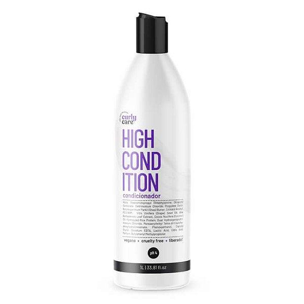 High Condition Condicionador 1L - Curly Care