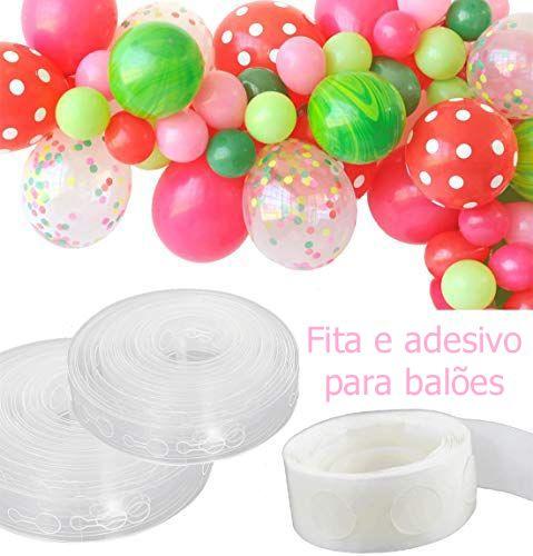 Acessórios - ESCOLHA fita para Arco ou adesivo para Balões