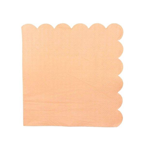 Guardanapo de papel Pêssego - 33cm (20 unidades)