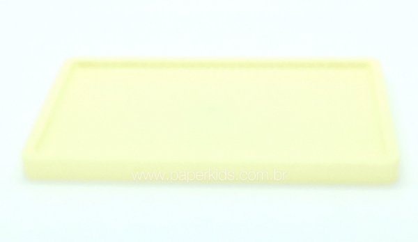 Suporte/ Bandeja para doces - Creme (30x18x2cm)