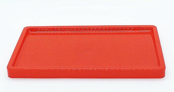 Suporte/ Bandeja para doces - Vermelho (30x18x2cm)