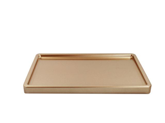 Bandeja para doces - Rose Gold (30x18x2cm)