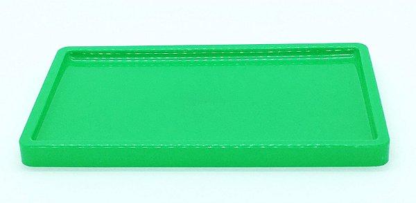Suporte/ Bandeja para doces - Verde (30x18x2cm)