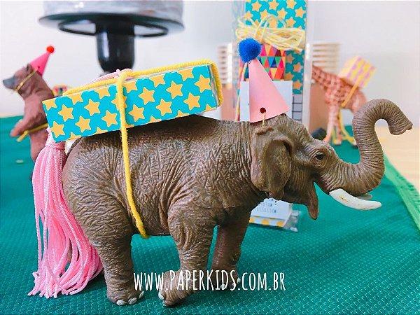 6 Mini Presentes Papel (4 estampas e tamanhos diversos) - cor Alegria
