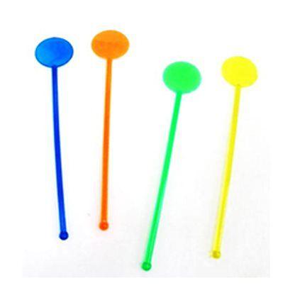 Mexedores coloridos - formato Bola (20 un)