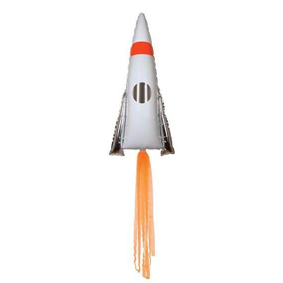 Balão Foguete Espacial - Meri Meri (106 cm)
