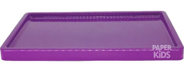 Bandeja para doces - Roxo (30x18x2cm)