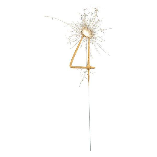 Vela dourada cometa - numero 4