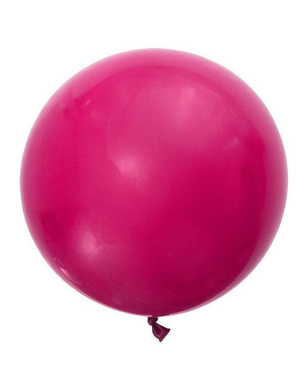 """Balão gigante 36"""" - Cereja intenso (unidade)"""