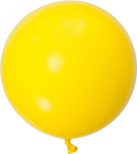 """Balão gigante 36"""" - Amarelo (unidade)"""