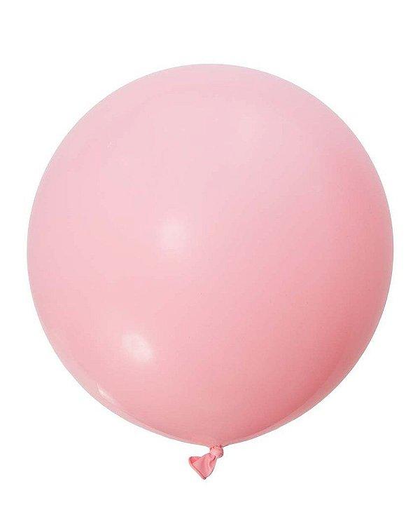 """Balão gigante 36""""- Rosa claro (unidade)"""