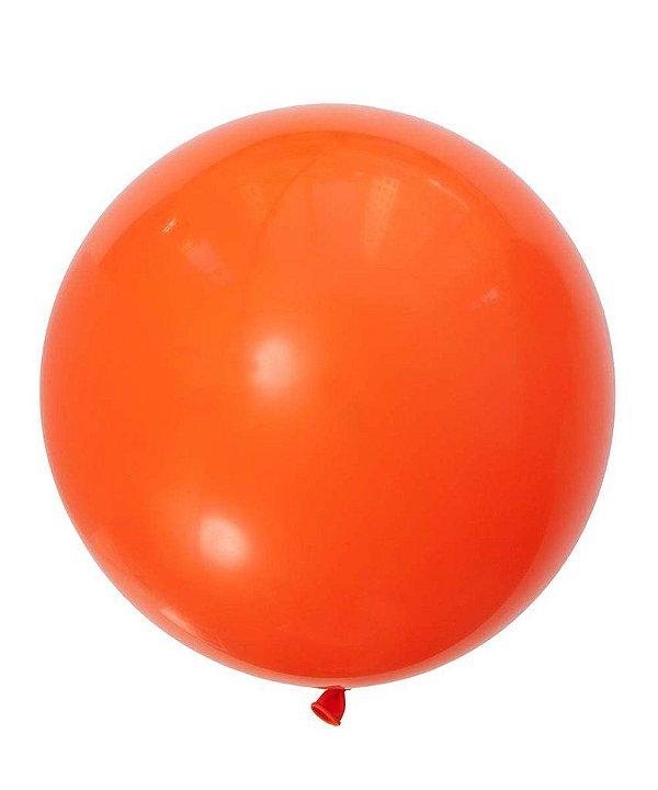 """Balão gigante 36"""" - Laranja Mandarim (unidade)"""