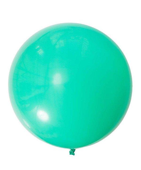 """Balão 30"""" gigante 76 cm - Verde Inverno (unidade)"""