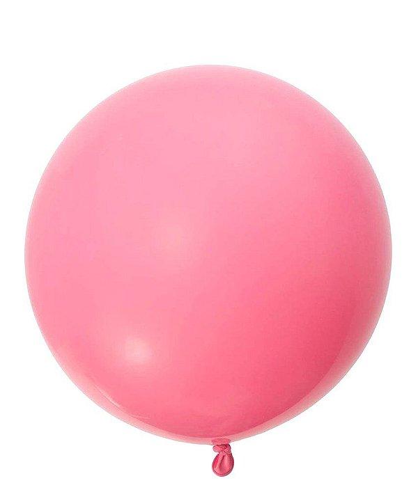 """Balão 30"""" gigante 76 cm - Rosa Mexicano (unidade)"""