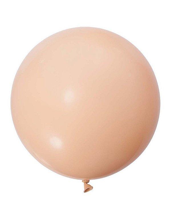 """Balão gigante 36"""" - Nude/Blush (unidade)"""