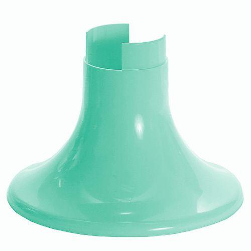 Pé para Vaso Artificial - Verde Candy (12.5 cm h) - 1 unidade