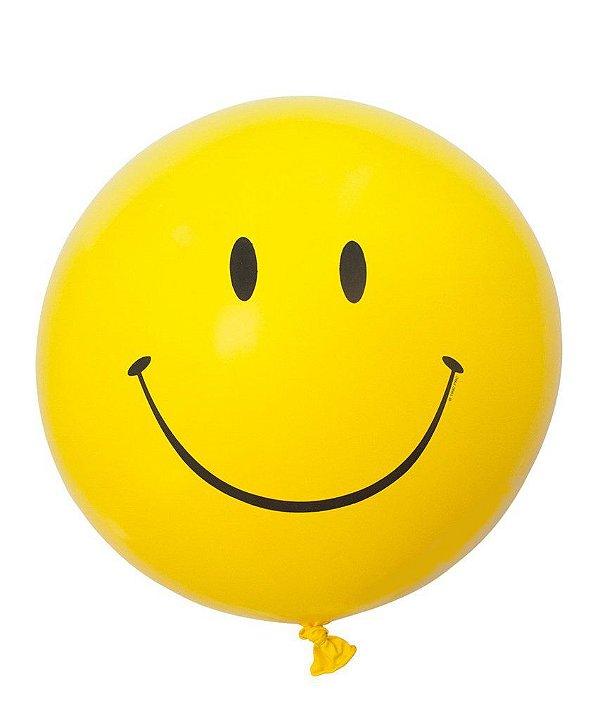 """Balão gigante 36""""- Carinha/Emoji (unidade)"""