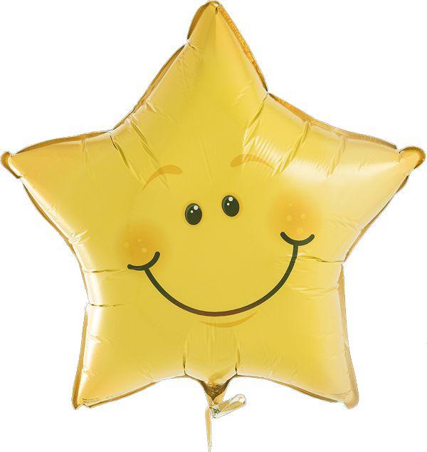 """Balão 20"""" Estrelinha Sorridente - 51 cm (unidade)"""